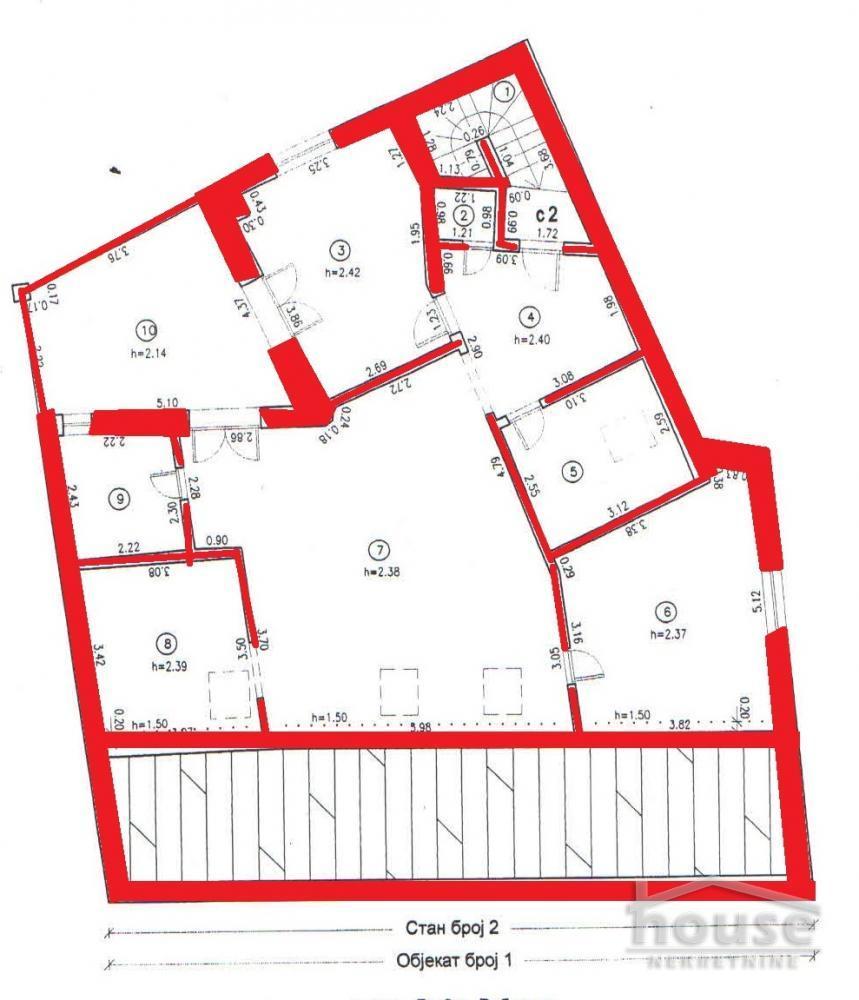 Poslovni prostor 570m² Grbavica